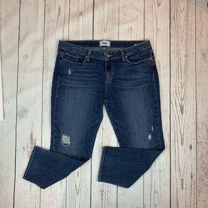 Paige Jimmy Jimmy Crop Jeans Size 32